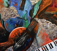 Music Mania by Denice Taylor Rinks