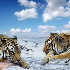 tigers and ducks ! oh my! by TheBrit