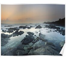 """""""The Hastening"""" ∞ Hastings Point, NSW - Australia Poster"""