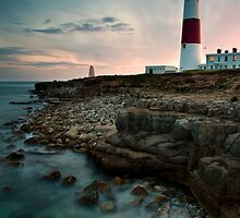 Portland Lighthouse Sunset.  by Daniel  Bristow
