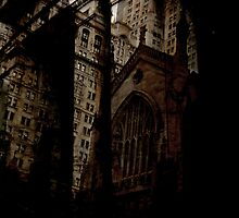 Lower Manhattan Split by earthmover
