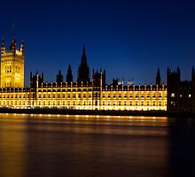 Palace of Westminster by Darren Bell