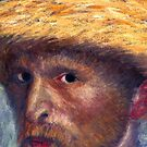 Kirk Douglas as Vincent (detail) by burramys