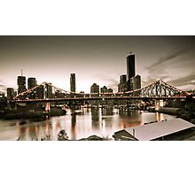 Vintage Brisbane Photographic Print