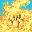 Flaming Kewpie by James Fosdike