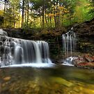 Autumn at RB Ricketts Falls by Lori Deiter