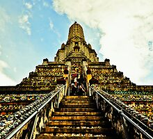 Climb up to meet the gods by M-A-K