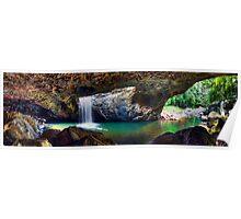 Panorama - Natural Bridge Poster