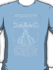 Vitruvian Prime inverted T-Shirt