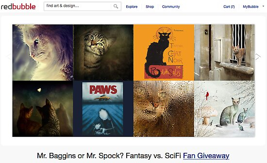 Cats - 26 November 2011 by The RedBubble Homepage