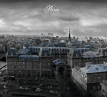 Stormy Paris night part 2 by designsbydave