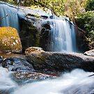 Waterfall at Zomba Plateau, Malawi by Tim Cowley
