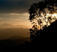 Zomba Sunset by Tim Cowley