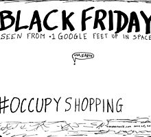 Occupy Shopping cartoon by bubbleicious
