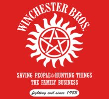 SUPERNATURAL - WINCHESTER BROTHERS SINCE 1983 by thischarmingfan