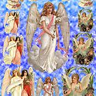 Old Fashioned Angels Deco Paper by MaryJaneBayliss