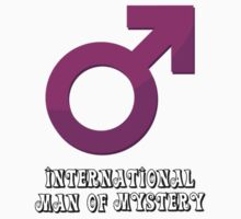 International Man of Mystery - Pink by SkinnyJoe
