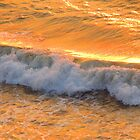 The golden surf - Oleaje dorado, Puerto Vallarta, Mexico by PtoVallartaMex