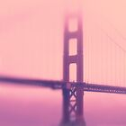 Pink Golden Gate bridge - iPhone Case by Yves Rubin