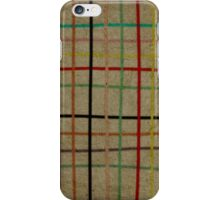 Checked iPhone Case iPhone Case/Skin