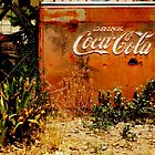 VINTAGE COCA COLA COOLER by djnarelle