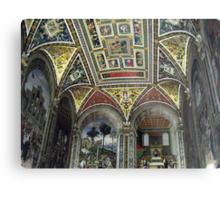 Siena Cathedral Interior 1 Metal Print