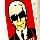 karl largerfeld sticker by djnarelle