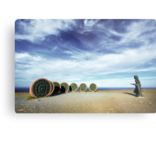 Children of the World - North Cape, Norway Metal Print