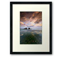 Separation ... Framed Print
