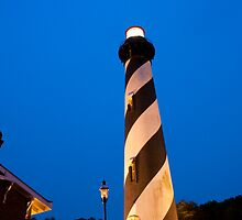 St. Augustine Lighthouse by Karen  Burgess