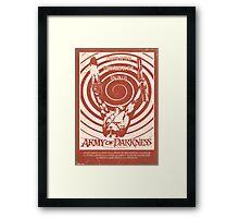 Army of Darkness (1992) Custom Poster Framed Print