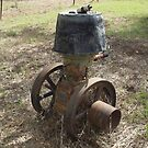 Old R.A. Lister Stationary Engine by Joe Hupp