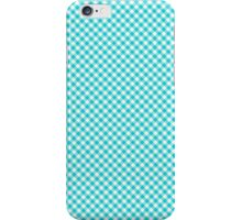 Checkered Blue Gingham iPod Case / Cover / Holder / Protector - Rupydetequila - Baby Blue and Aquamarine Blue iPhone Case/Skin
