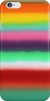 Rainbow iphone case by Ruth Fitta-Schulz