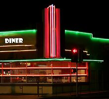 Diner Lights by artstoreroom