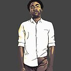 Childish Gambino iPhone Case by GabeForsell