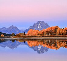 Oxbow Bend Autumn. by Ann  Van Breemen