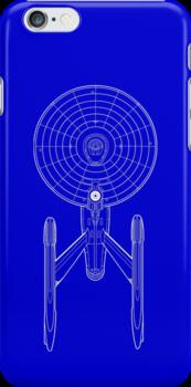 Enterprise Spaceship (Star Trek) by easyeye