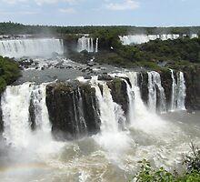 Iguassu Falls, Brazil by grubb1980