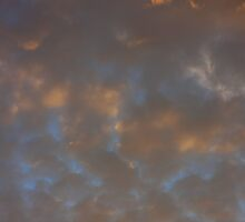 Background of colourful sky. by fotorobs