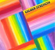 Colour Strength - Brush And Gouache by RainbowArt