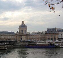 Along the River Seine by Norma Jean Lipert