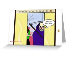 The Smell of Death Greeting Card