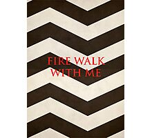 Twin Peaks: Fire Walk With Me Minimalist Poster Photographic Print