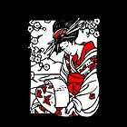 Geisha iPhone by cerio