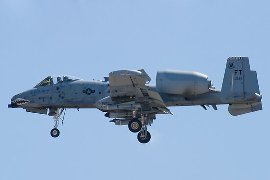 FT AF 78-0597 A-10 Thunderbolt II On Approach by Henry Plumley