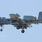 FT AF 79-0189 A-10 Thunderbolt II Approach by Henry Plumley