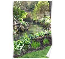 A Green & Peaceful Place Poster