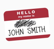 Hello my name is John Smith Kids Clothes