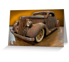 Custom Coupe Greeting Card
